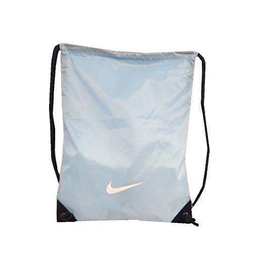 Nike BA2735 421 Fundamentals Swoosh Gymsack Bolso de Hombre, Azul / Blanco Talla Única …
