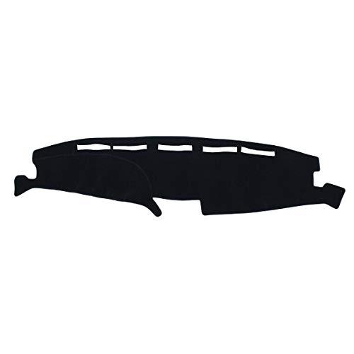 NewYall Black Dash Mat Dashboard Pad Cover