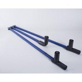 Shaolin - Accesorio para estiramientos de piernas en artes marciales, 3 barras, metal