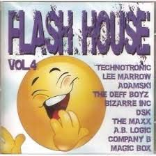 Cd Flash house vol 4, Klf, Technotronic, Culture beat e outros