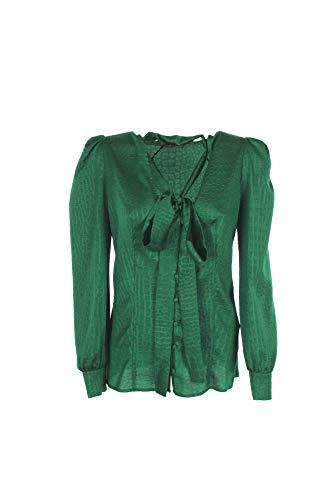 Camicia Donna Twin-Set 48 Verde 201tp2320 1/20 Primavera Estate 2020