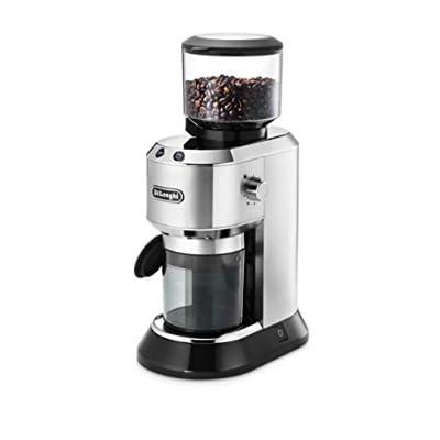 Espressomühlen für Siebträger: De'Longhi KG 520.M Dedica Elektrische Kaffeemühle für Siebträger