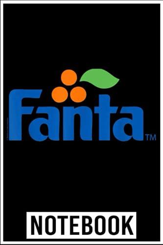 Notebook: Coca Cola Vintage Fanta Logo notebook 6x9 inch by Denzi Bully