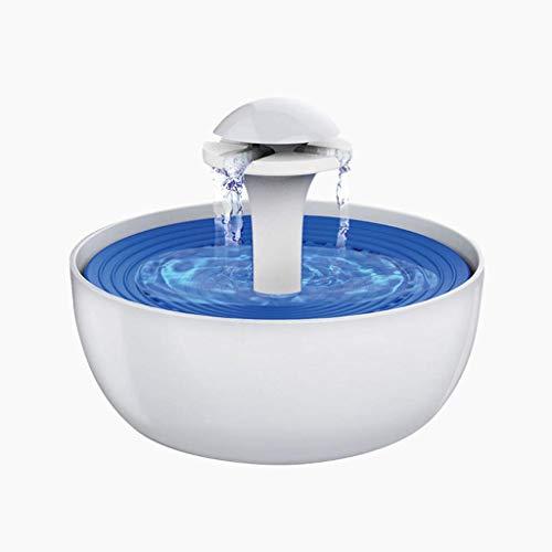 Daxiong Pet Föhn Trinkbrunnen Automatischer Brunnen für Katzen Hunde Vögel Haustiere Wasserspender Trog Nizza 3L Kapazität