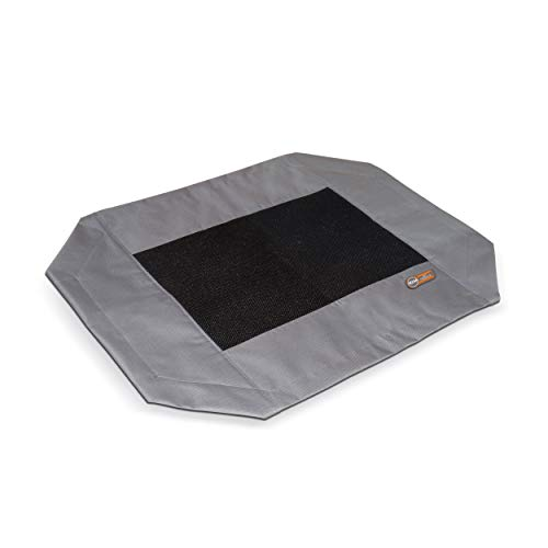 K&H Pet Products Original Pet Cot Replacement Cover Medium Gray/Mesh 25' x 32'