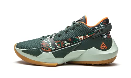 Nike Men's Zoom Freak 2 Vintage Green/Camellia/Gum Medium Brown/Pistachio Frost Sneakers 11