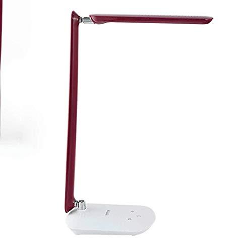 GUOSHUCHE Lámpara de escritorio Personalidad simple Led lámpara de oficina, niños de ojos Aprender de la lámpara de lectura del estudiante, regulador táctil lámparas de mesa, lámpara de cabecera del d