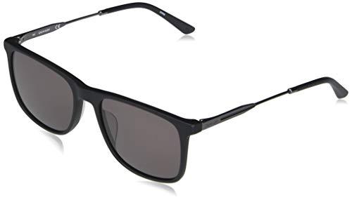 Calvin Klein EYEWEAR CK20711S-001 Gafas, Matte Black/Solid Smoke, 55-18-145 para Hombre