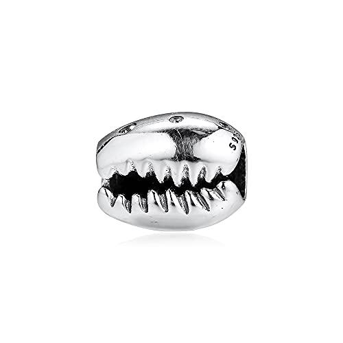 Pandora 925 Sterling Silber Kaffeebohne Höllenperlen für die Herstellung von Charms Original Bead Charm diy Liebesschmuck