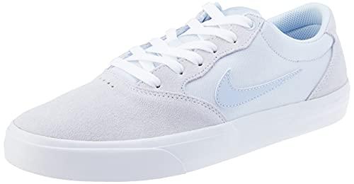 Nike SB Chron Solarsoft, Gymnastics Shoe Unisex Adulto, Football Grey/Ghost-Football Grey-White, 42.5 EU
