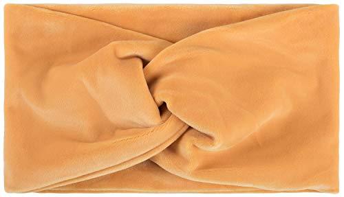 styleBREAKER Ladies Browband in fluwelen look met draaiknoop, warme haarband, hoofdband, haarversieringen 04026040