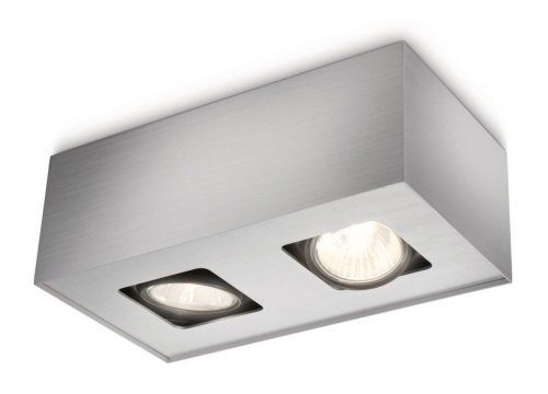 Philips myLiving 562324816 intérieur GU10 35 W Aluminium Lighting spots