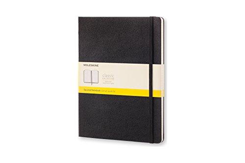 モレスキン クラシックノートブック 方眼 ハードカバー Xラージサイズ ブラック QP091