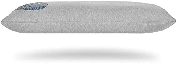 Bedgear Flow Performance Pillow - Soft Jersey-Like Breathable Fabric - Soft On One Side and Firmer On The Other - Flow 0.0