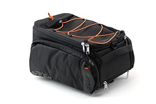 KTM Gepäckträger Tasche Fahrrad Tasche schwarz/orange Racktime \'Snapit\'