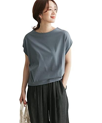 [アーバンリサーチ ドアーズ] tシャツ コットンタックフレンチプルオーバー レディース DR15-21M509 BLUE one