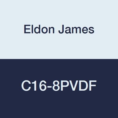 Eldon James C16-8PVDF Industrial Gray Coupler Reduction trend rank Kynar 1 Tulsa Mall