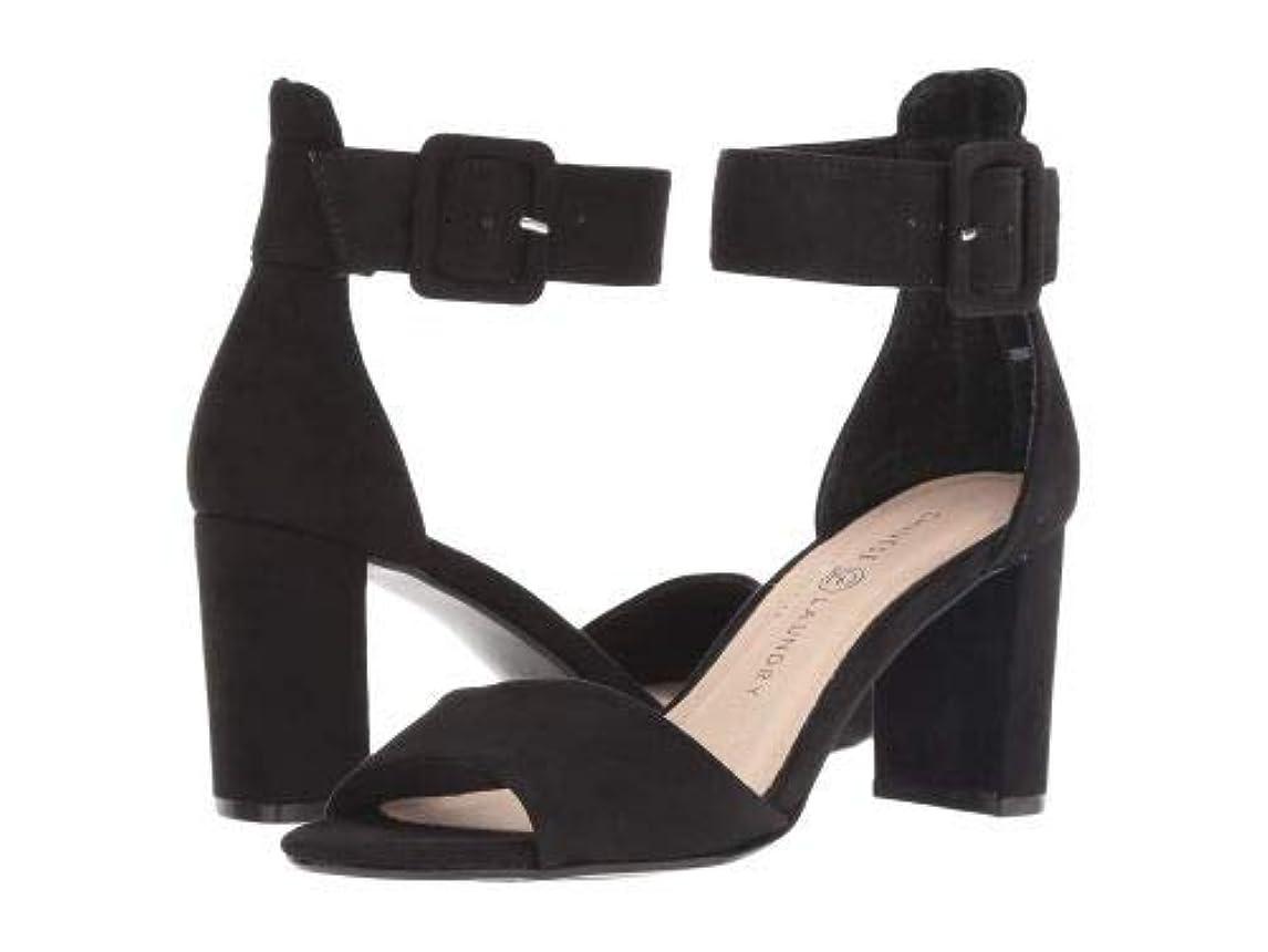謝るリレーティームChinese Laundry(チャイニーズランドリー) レディース 女性用 シューズ 靴 ヒール Rumor - Black Microsuede [並行輸入品]
