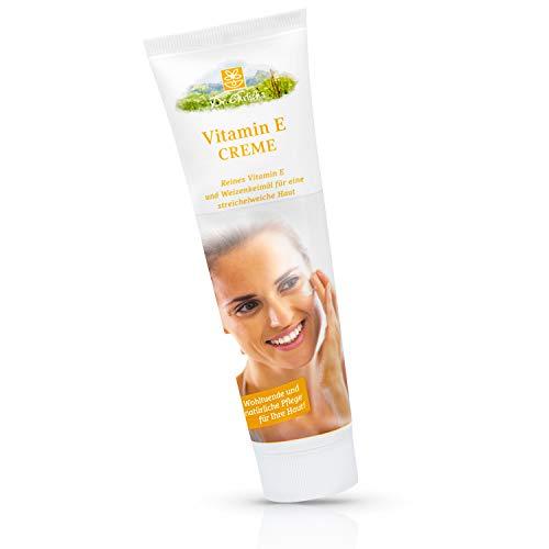 Dr. Ehrlichs Vitamin E Creme 100ml - reichhaltige Intensivpflege für die besonderen Ansprüche und Bedürfnisse reifer Haut - pflegt, glättet und strafft die Haut - Säureschutzmantel wird verbessert