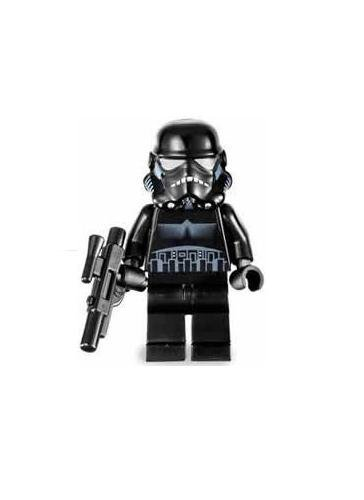 Shadow Trooper (Black) - LEGO Star Wars Figure by LEGO TOY (English Manual)
