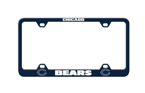 Chicago Bears Laser License Plate - 2