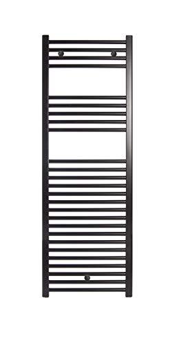 Fácula H2O - Radiador Toallero Ocean Negro (1500x500mm)