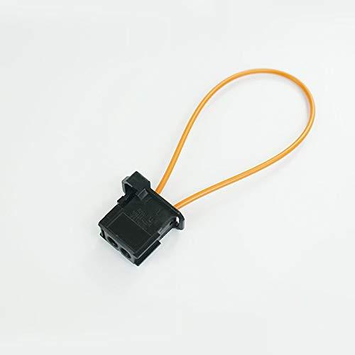 La plupart des câbles Fibre optique passant de connecteur mâle