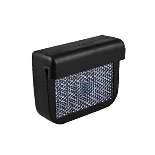 WXJWPZ Ventilador de Aire Nuevo Coche de la energía Solar de Escape de Gas de refrigeración más frío Ventana de ventilación del radiador del Sistema de refrigeración del Ventilador del Coche