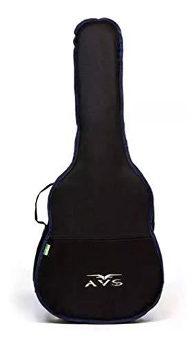 Avs Standard Folk Guitar Case With Non-Padded Pocket
