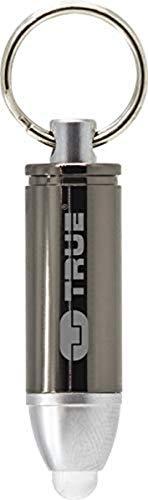 True Utility TU311 Bulletlite BulletliteMagnum Porte-clés en forme de balle Argenté Taille unique