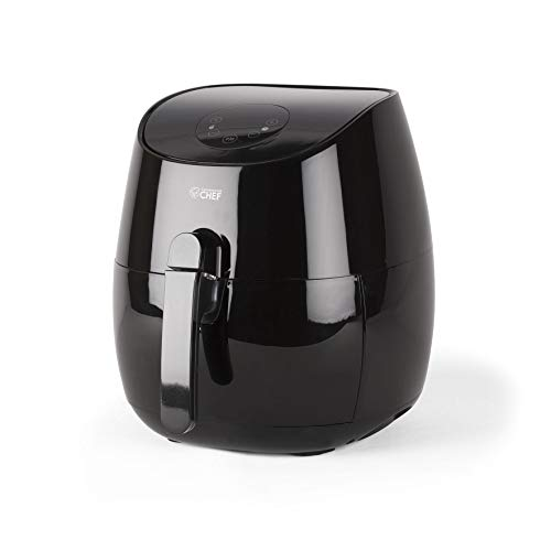 Commercial Chef CHAF35B Air Fryer, 3.5 Liter, Black