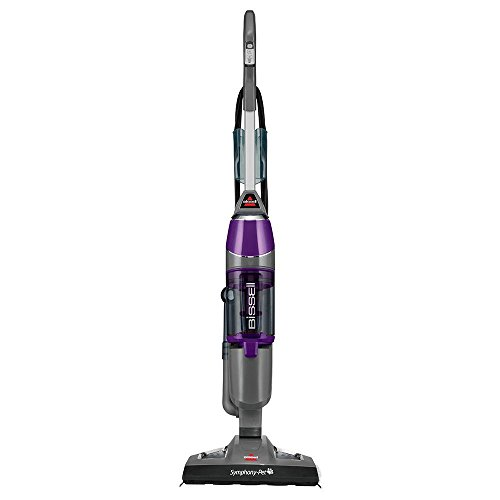 BISSELL (ビッセル) Symphony Pet All-in-One Vacuum and Steam Mop, 1543A [並行輸入品]