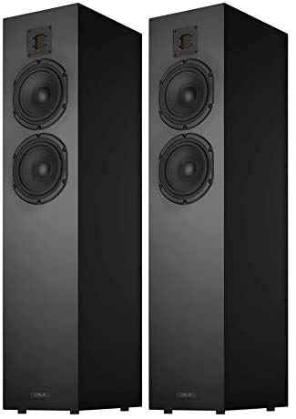 Piega Classic 5.0 Premium Floorstanding Speakers (Pair) (High Gloss Black)