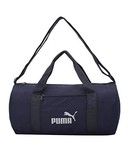 Puma unisex-adult PUMA Gym Bag IND III Peacoat-Reflective logo Luggage- Garment Bag-X