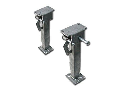 Touracs 99999916099hubmatik Patas de Apoyo, 330–530mm, Gris, Juego de 2