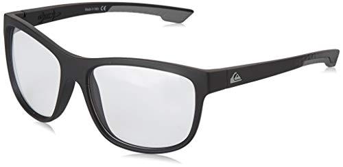 Quiksilver Herren Sonnenbrille CRUSADER Adapt - Sonnenbrille für Männer, Black/Grey/Grey - Combo, 1SZ, EQYEY03137