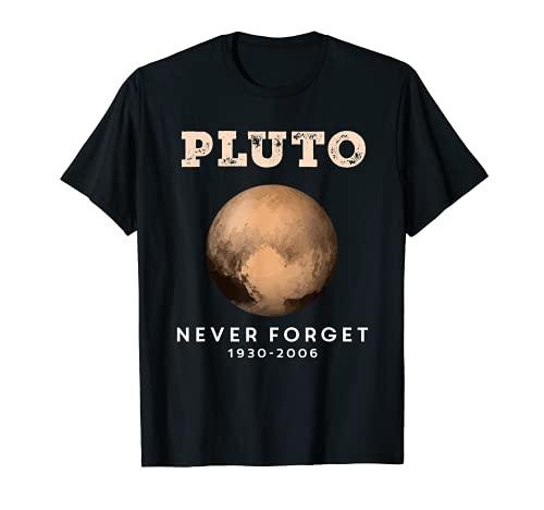 Disfraz de Plutn Retro Vintage Astronoma Espacial Camiseta