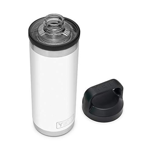 YETI White Rambler Chug Bottle, 1 EA