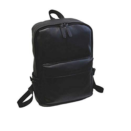 zhuao nieuwe waterdichte laptop rugzak, mannen tiener lederen rugzak, casual outdoor camping rugzak