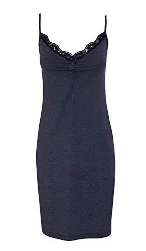 Jockey® Women's Lounge Chemise, Dark Iris Melange, Size XL