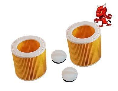 2 Cartouche de Filtre Filtre Rond Lamellenfilter pour Dewalt D27901