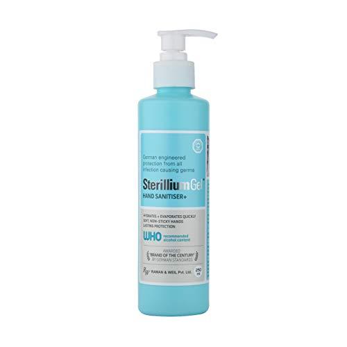 RW Sterillium Gel Sanitizer Alcohol Based Liquid, Hand Protection, Handrub Sanitizer – 250 Ml, Pack of 1