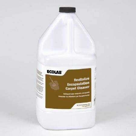 ECOLAB 6195099 ENCAPSULATION CARPET CLEANER - Revitalize - One (1) Gallon (3.78 L) Resealable Bottle per ORDER