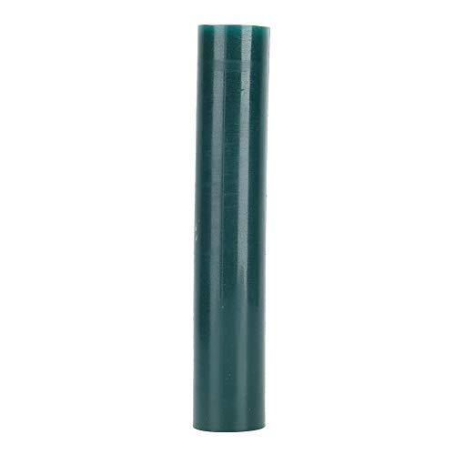 Tubo de molde de anillo de cera verde, modelo de anillo de joyería que hace cera de inyección, tubo de molde de cera de anillo de joyería, accesorio de herramienta de grabado de joyería(Men)