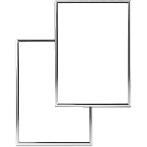 BOINN 2 marcos de fotos, A4, con cristal de plexiglás irrompible, 21 x 30 cm