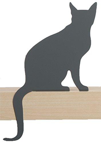 Artori Design Gatto| Diva Figurine | Silhouette di Gatti Decorativi in Metallo | Statuetta Decorazione Gatto | Regalo per Amante dei Gatti | Arredo Gatto