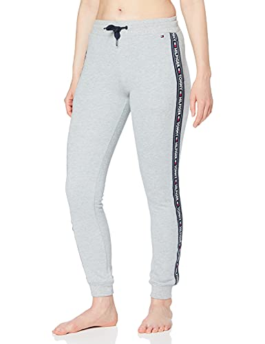 Tommy Hilfiger Damen Trainingshose , Grau (Grey Heather 004), Large