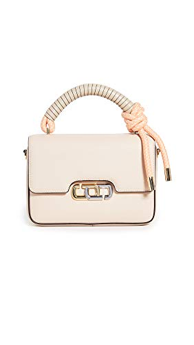 Marc Jacobs Borsa The J Link in pelle beige e rosa