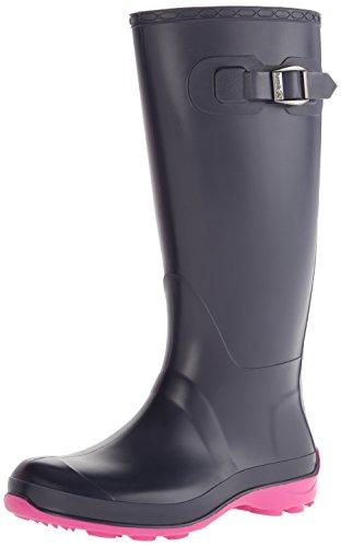 Kamik Women's Olivia Rain Boot, Navy, 8 M US