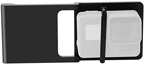 Zhiyou Montageplattenadapter Halterung für GoPro Hero 6 / 5 / 4 / 3 auf DJI Osmo Mobile / Mobile 2, Zhiyun Smooth 4 / Smooth Q Gimbals